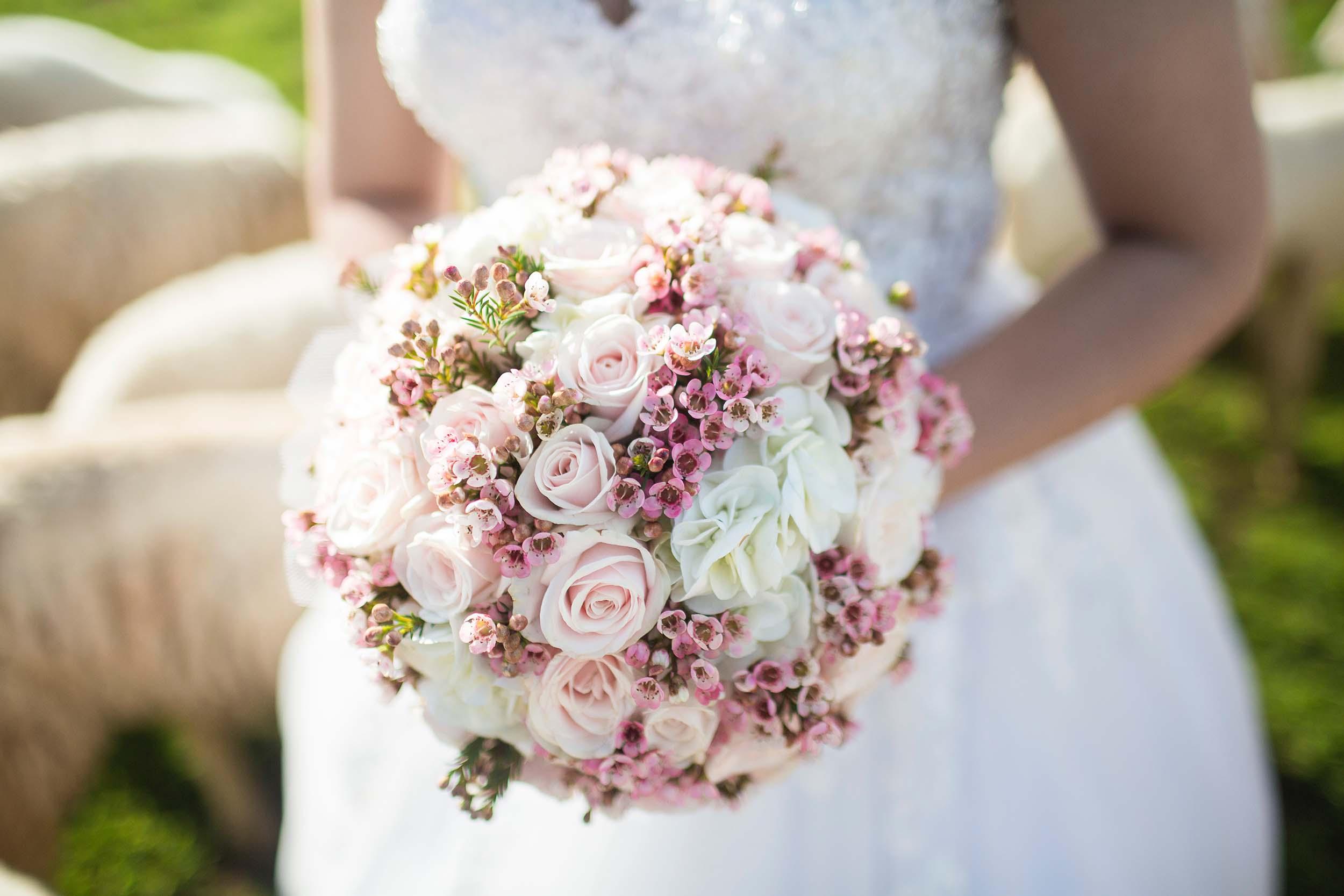 Bröllopsbuketten