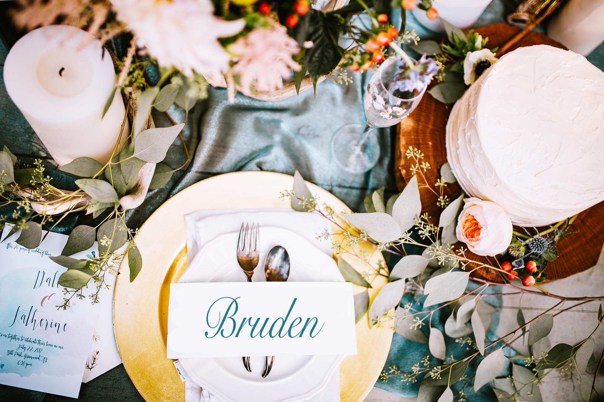 Bordsplacering på bröllop