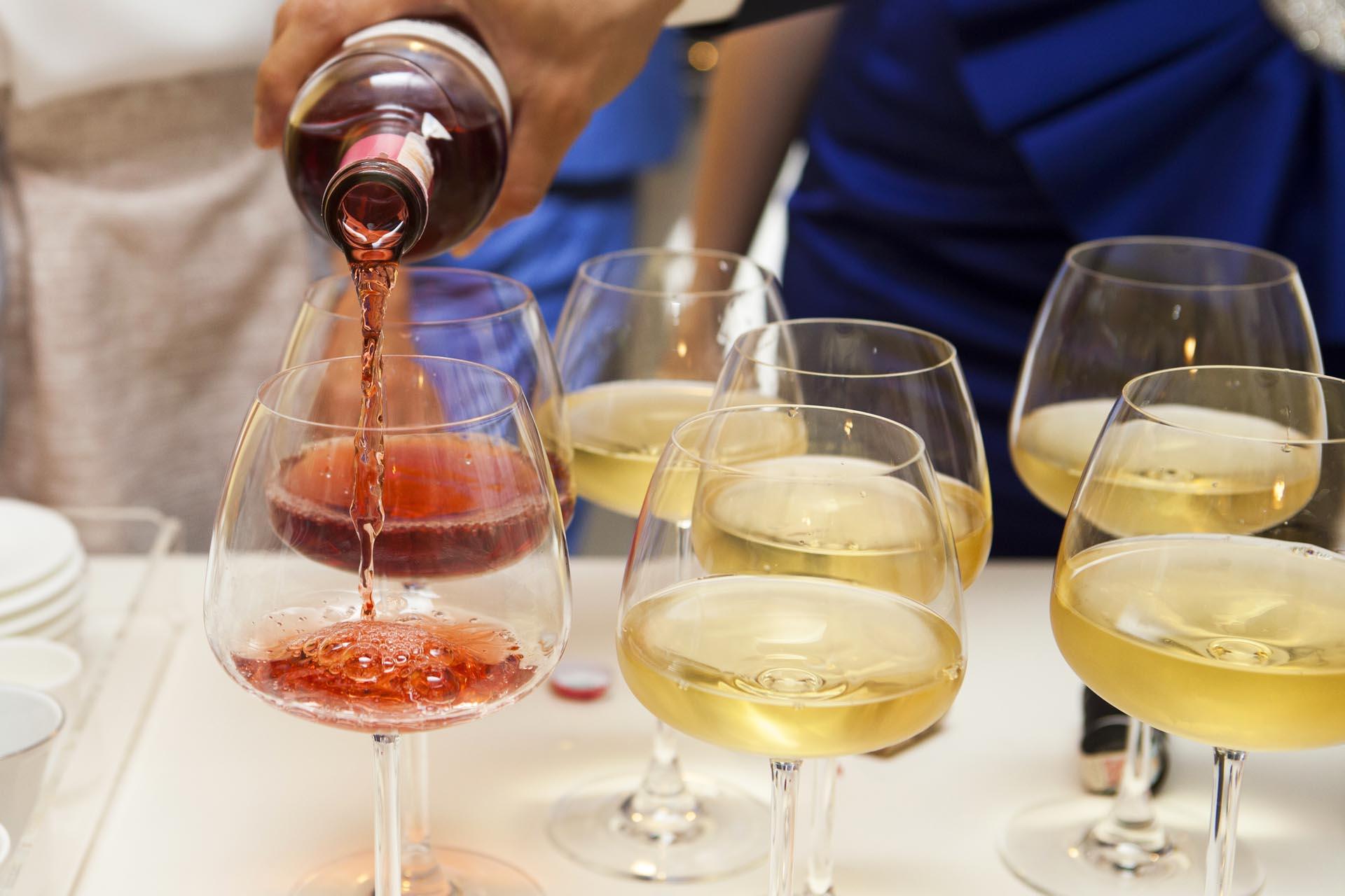 Vin till bröllopsmaten