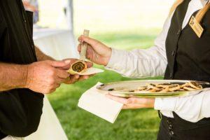 Servering vid bröllop