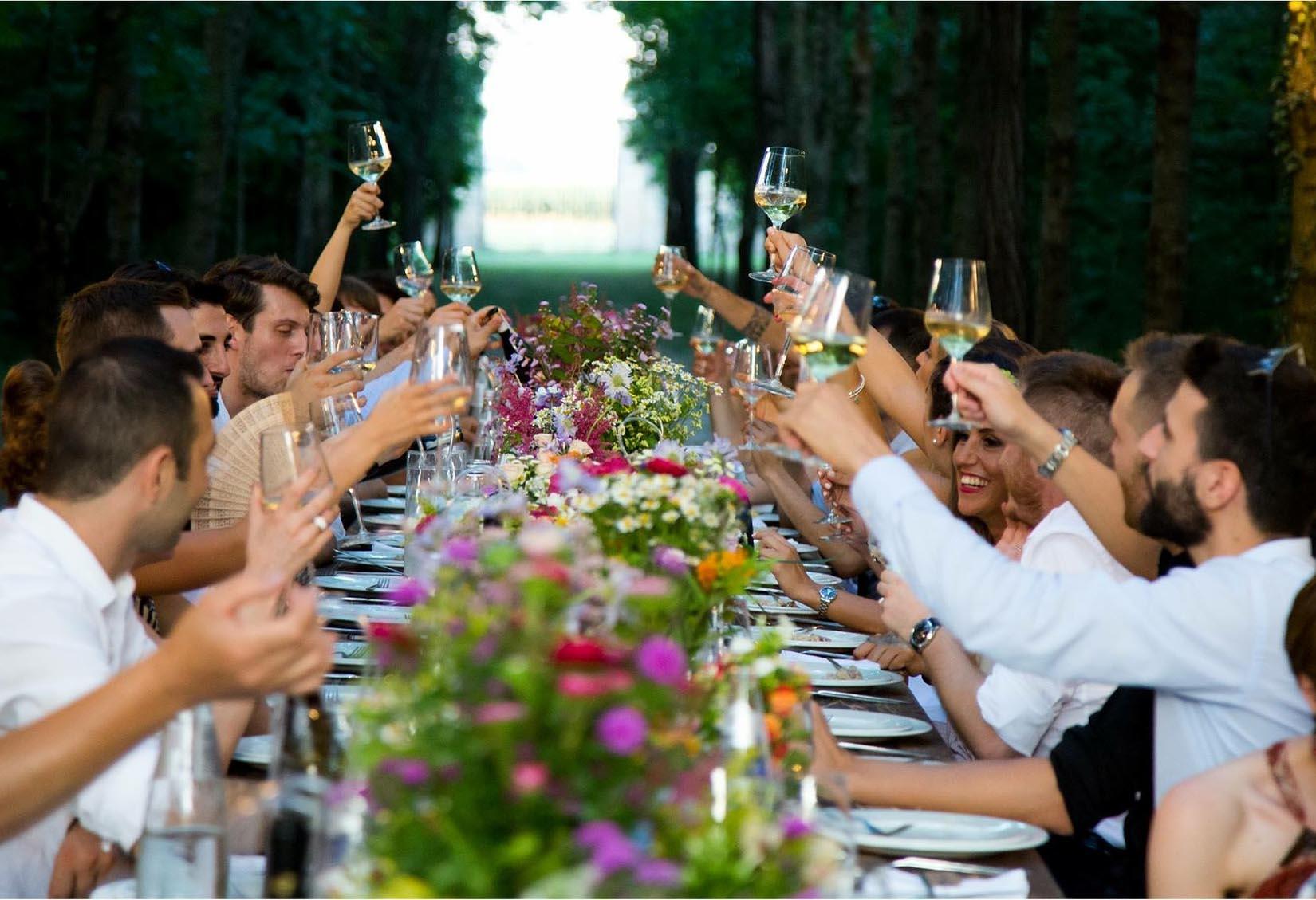 Spex för bröllopsgästerna